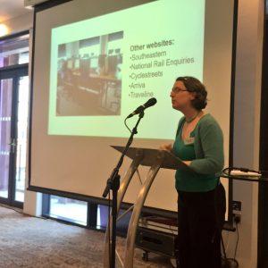 Sarah Deakin updates CRS17 on the Smarter Travel Challenge
